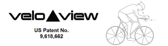 Velo View Prism Keeps You Looking Forward